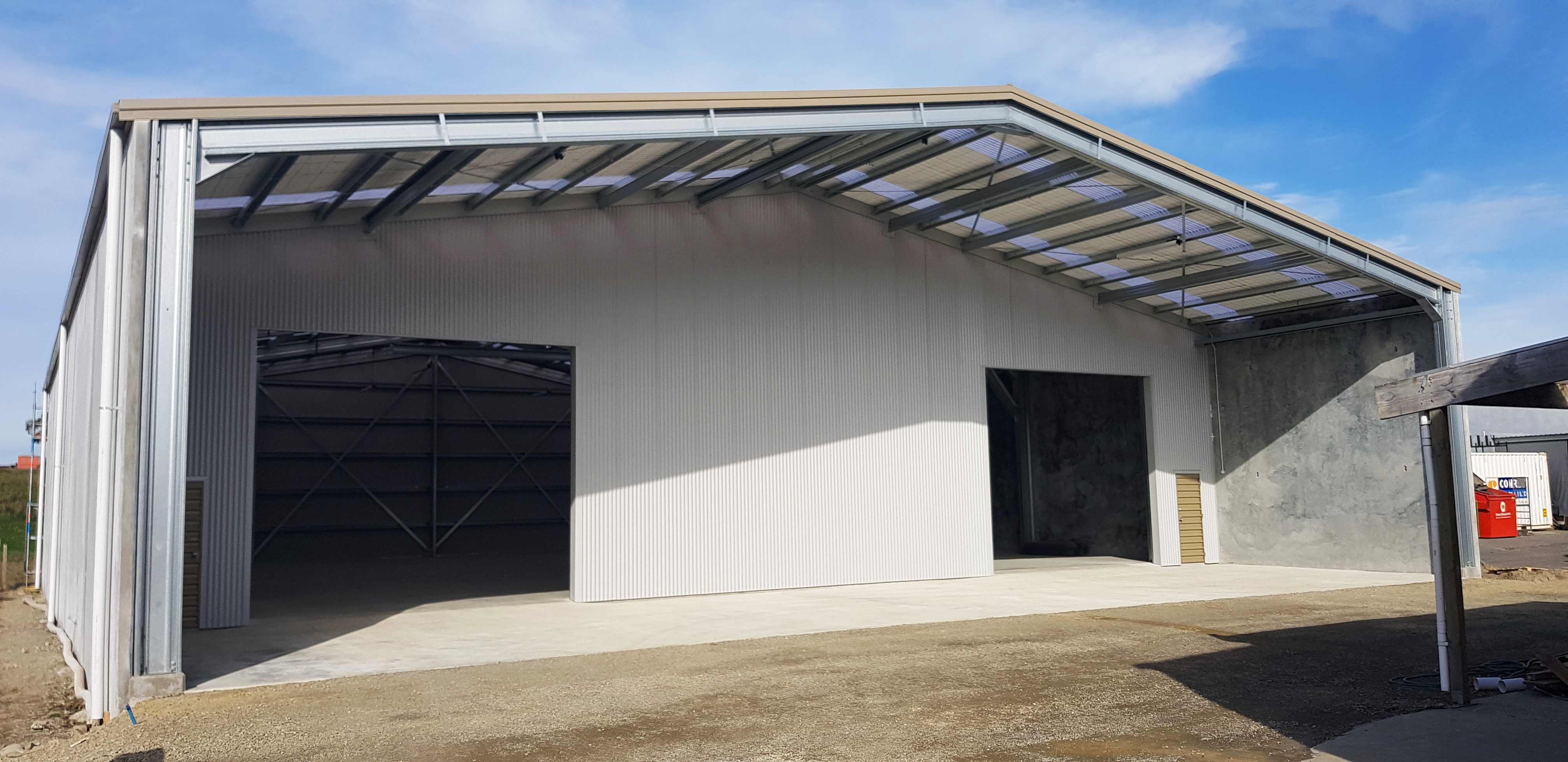The Owners Of This Smart Looking Storage Warehouse In Timaru Are